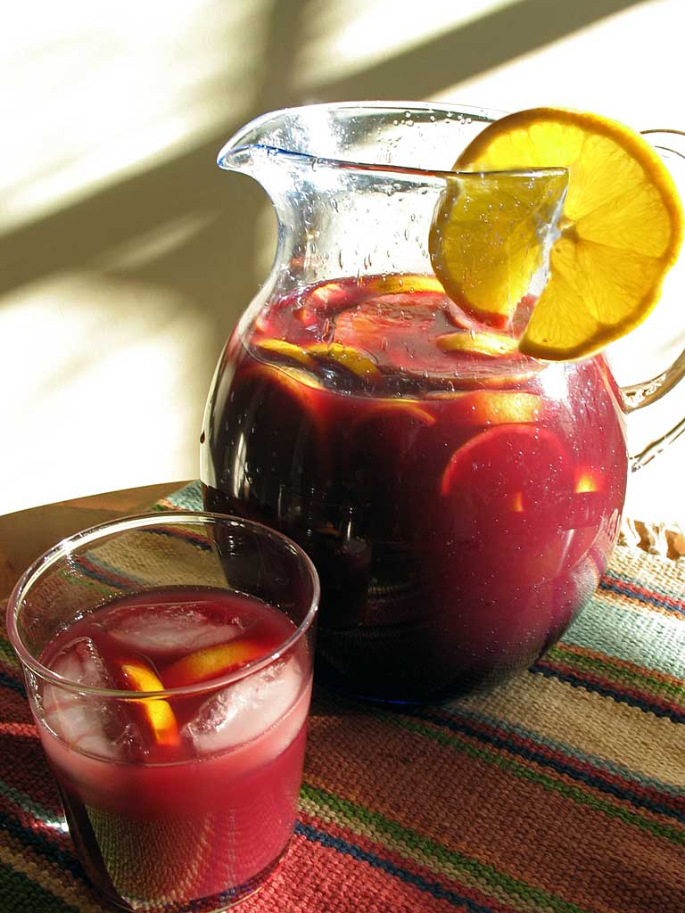 Red Sangria @ Mt Hood Organic Farms Weddings