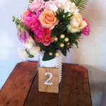 Wooden Card Table Numbers $2/ each